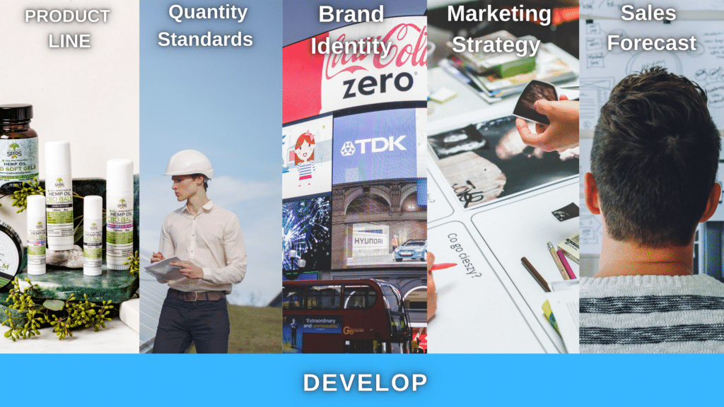 develop your product