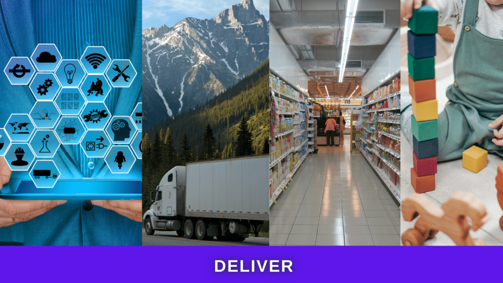 deliver your product